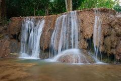 Cascata di Ngao, lampang, Tailandia Immagine Stock