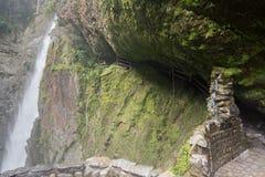 Cascata di Pailon Del Diablo, Ecuador Fotografia Stock Libera da Diritti