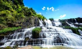 Cascata di Pongour in Don Duong Lam Dong Province Vietnam Fotografia Stock Libera da Diritti