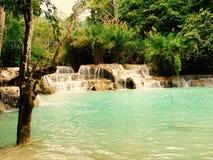 Cascata 1 di Quangsi Fotografia Stock Libera da Diritti