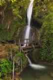 Cascata di Ripaljka, montagna di Ozren, Serbia Fotografia Stock Libera da Diritti