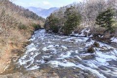 Cascata 1 di Ryuzu Immagini Stock