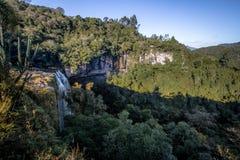 Cascata di Salto Ventoso - Farroupilha, Rio Grande do Sul, Brasile Fotografie Stock Libere da Diritti
