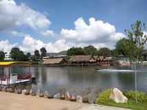 Cascata di samui del KOH della Tailandia fotografie stock libere da diritti