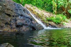 Cascata di Sarika, parco nazionale di Khao Yai Fotografia Stock Libera da Diritti