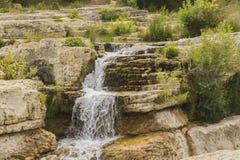 Cascata di Sautadet Immagini Stock