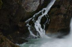 Cascata di Savica fotografia stock libera da diritti