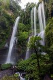 Cascata di Sekumpul in Bali del Nord, Indonesia Fotografie Stock Libere da Diritti
