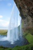 Cascata di Seljalandsfoss Immagini Stock