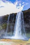 Cascata di Seljalandsfoss Immagini Stock Libere da Diritti