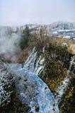 Cascata di Shirohige Immagine Stock