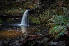 Cascata di signora Falls Sgwd Gwladus Fotografia Stock