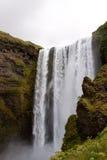 Cascata di Skogafoss, Islanda Fotografie Stock