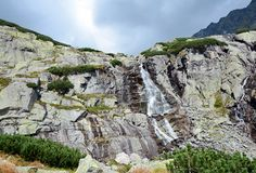 Cascata di Skok Fotografia Stock