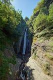 Cascata di Smolare - il più alta cascata in Repubblica Macedone Fotografie Stock
