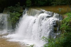 Cascata di Sridith in khaoko a Petchabun, Tailandia Immagini Stock Libere da Diritti
