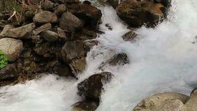 Cascata di Stuiben nel Tirolo archivi video