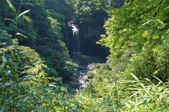 Cascata di Suzaki nel Giappone fotografia stock