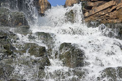 Cascata di Tirathagarh Fotografie Stock