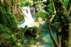 Cascata di Vaioaga, Romania Fotografie Stock