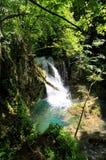 Cascata di Vaioaga, Romania Immagini Stock