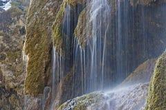 Cascata di velo nella gola di Ammer Fotografie Stock Libere da Diritti