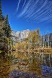 Cascata di Yosemite fotografia stock
