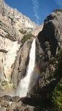 Cascata di Yosemite fotografia stock libera da diritti