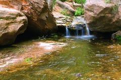 Cascata di Zion Immagini Stock