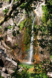 Cascata do Arado στο εθνικό πάρκο Peneda Geres στοκ εικόνες