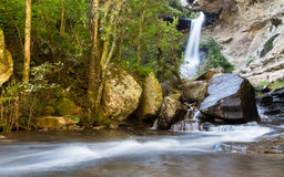Cascata in Drakensberg, Sudafrica Fotografie Stock