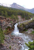 Cascata e canyon Fotografia Stock Libera da Diritti