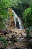 Cascata e foresta Fotografie Stock Libere da Diritti