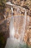 Cascata e Rainbow Fotografie Stock Libere da Diritti