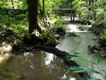 Cascata famosa nella città provinciale di Krabi, Tailandia Fotografie Stock