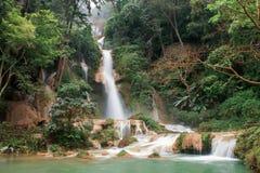 Cascata in foresta pluviale Fotografia Stock