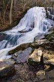 Cascata funzionata urlo 4, Eagle Rock, VA Fotografia Stock Libera da Diritti
