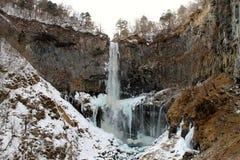 Cascata ghiacciata Fotografie Stock