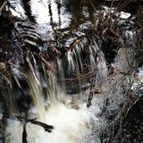 Cascata ghiacciata immagine stock