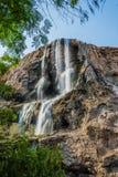 Cascata Giordano delle sorgenti di acqua calda di Ma'in Fotografia Stock Libera da Diritti