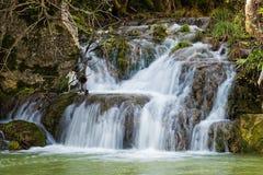 Cascata in Grecia Immagine Stock Libera da Diritti