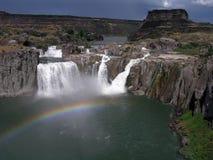 cascata Idaho dello shoshone fotografia stock