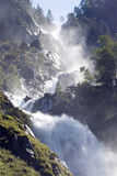Cascata impressionante, Norvegia. Fotografia Stock