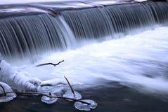 Cascata in inverno Fotografia Stock Libera da Diritti