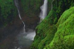 Cascata-Io di Thoseghar Fotografia Stock Libera da Diritti