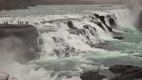 Cascata in Islanda archivi video