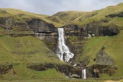 Cascata in Islanda immagini stock