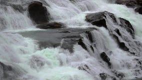 Cascata in Islanda stock footage
