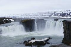 Cascata islandese Fotografia Stock Libera da Diritti