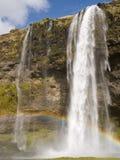 Cascata islandese Immagini Stock Libere da Diritti